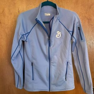 Marmot zip up jacket lightweight, fitted, soft